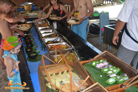 lunch bali hai cruise