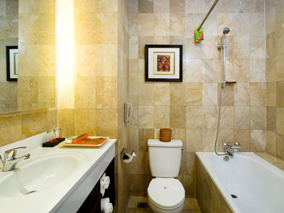 deluxe bathroom hotel kuta seaview boutique resort and spa