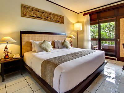 tipe kamar deluxe hotel kuta seaview boutique resort and spa