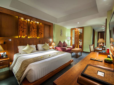 tipe kamar family suite hotel kuta seaview boutique resort and spa